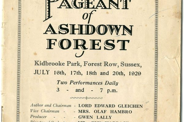 East Grinstead Museum - The Pageant of Ashdown Forest
