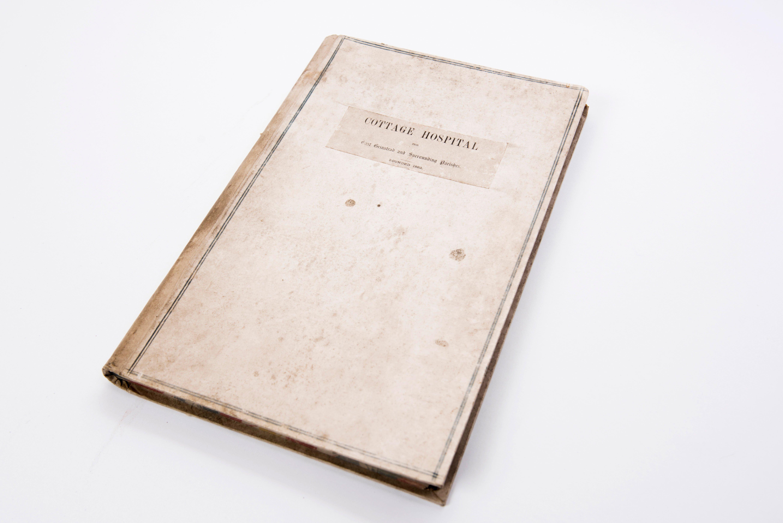 Cottage Hospital Register – 1863