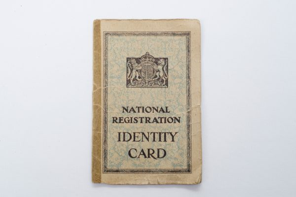 Identity Card - East grinstead Museum