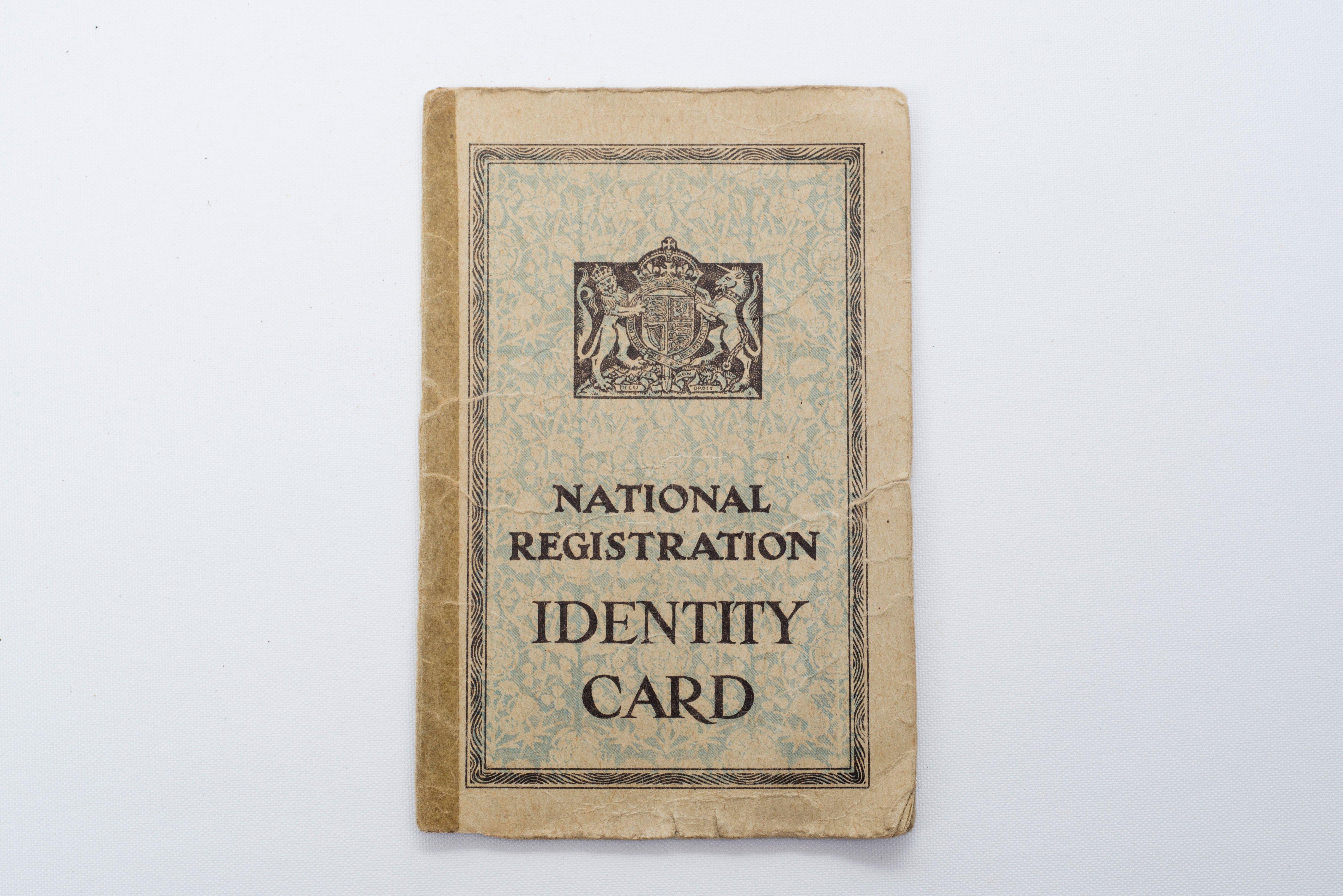 Identity Card – East grinstead Museum