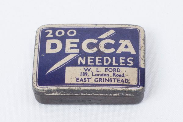 200 DECCA Gramophone Needles - East Grinstead Museum