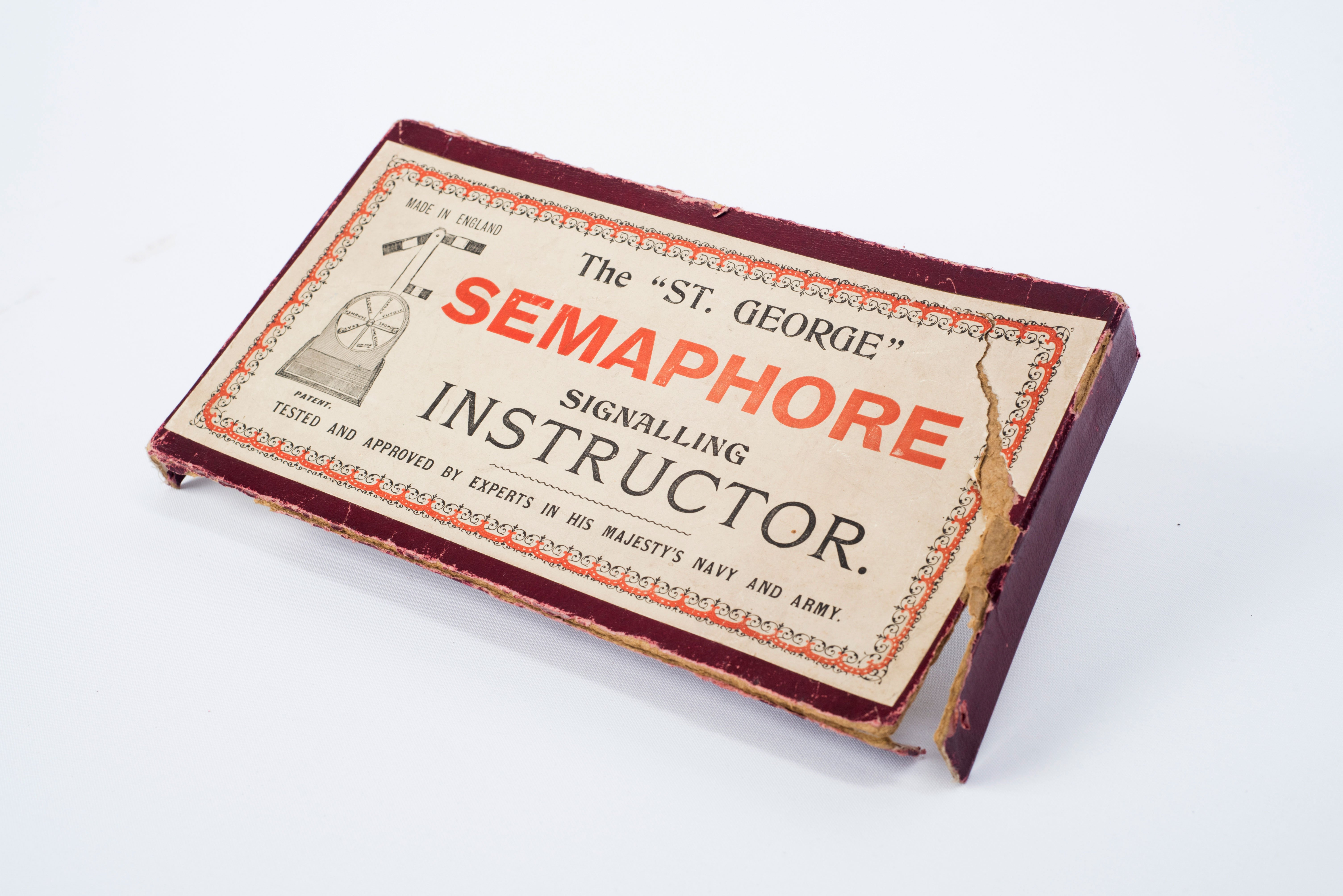 Semaphore Set Alphabet – East Grinstead Mseum