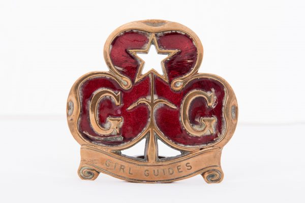 Girl Guide Badge - East Grinstead Museum